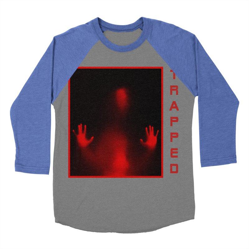 Trapped Men's Baseball Triblend Longsleeve T-Shirt by R-A Designs -  Artist Shop