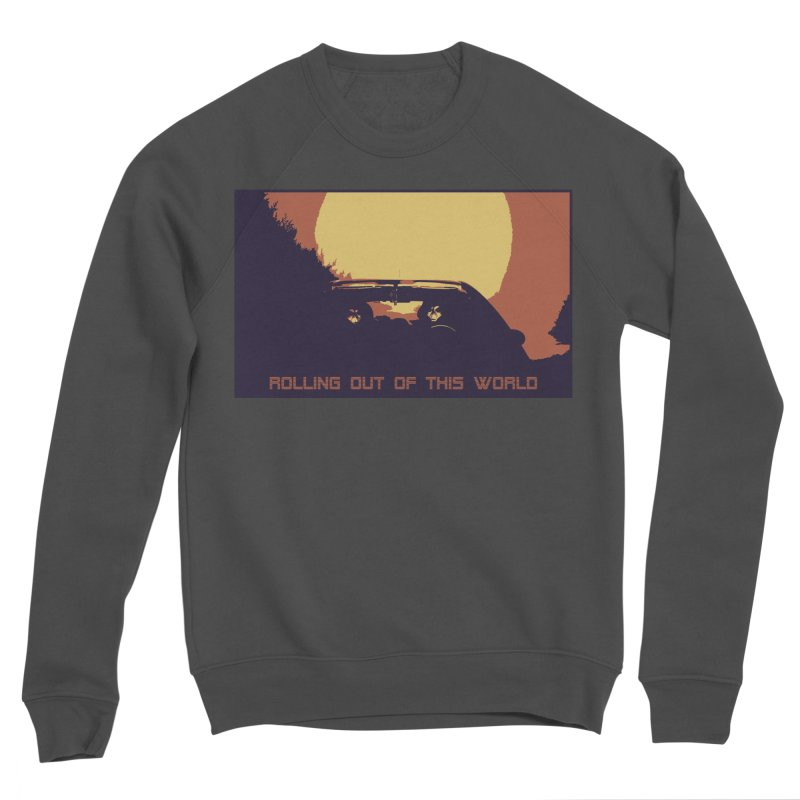Rolling Out Of This World Men's Sponge Fleece Sweatshirt by R-A Designs -  Artist Shop