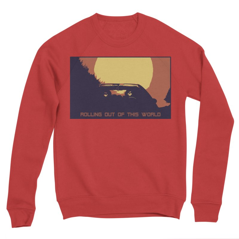 Rolling Out Of This World Women's Sponge Fleece Sweatshirt by R-A Designs -  Artist Shop
