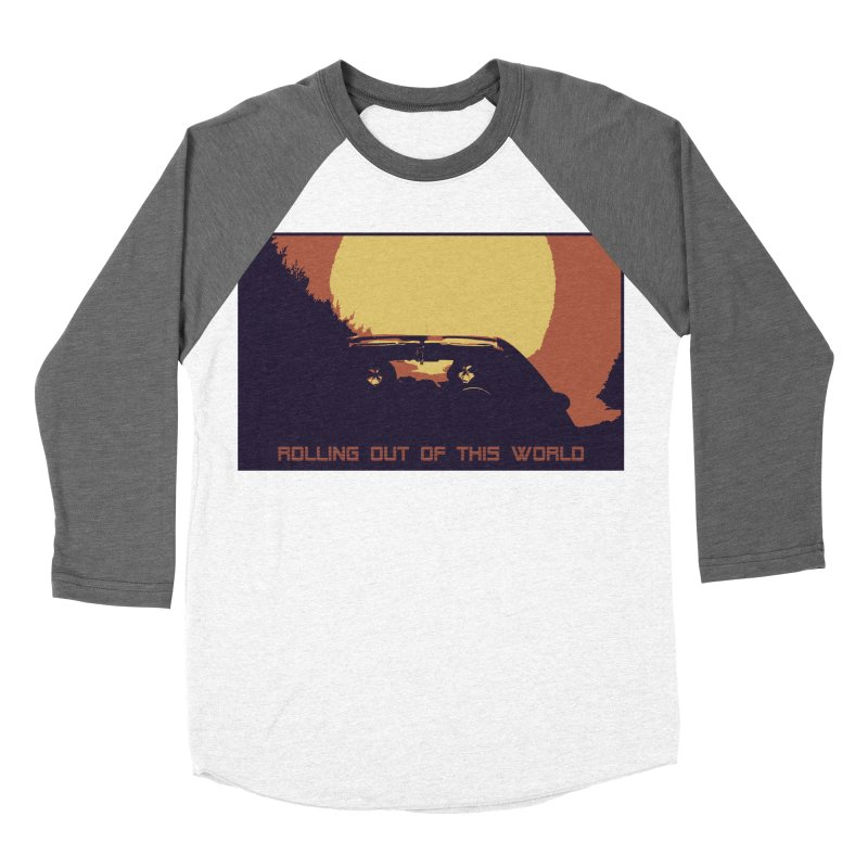 Rolling Out Of This World Men's Baseball Triblend Longsleeve T-Shirt by R-A Designs -  Artist Shop