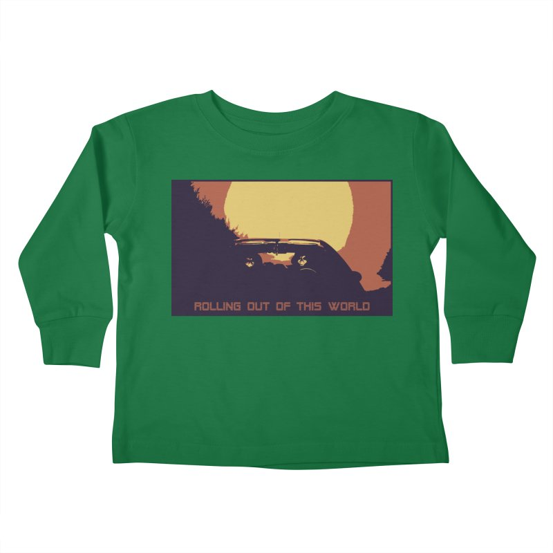 Rolling Out Of This World Kids Toddler Longsleeve T-Shirt by R-A Designs -  Artist Shop