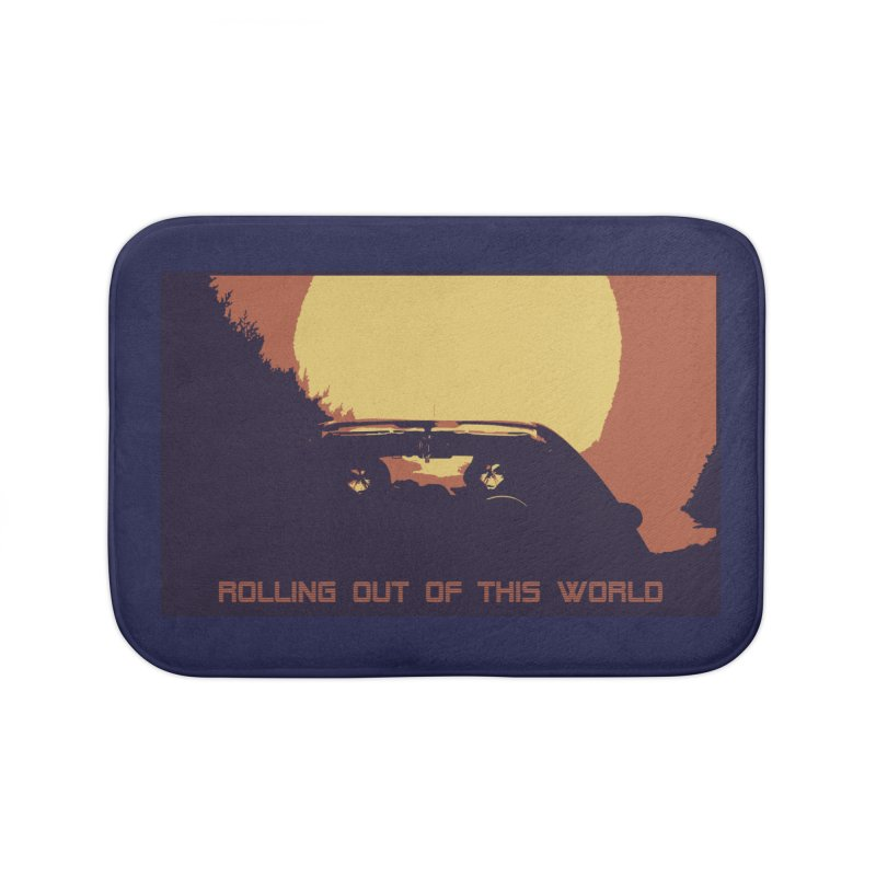 Rolling Out Of This World Home Bath Mat by R-A Designs -  Artist Shop