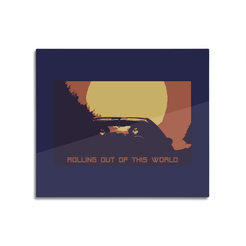 Rolling Out Of This World Home Mounted Aluminum Print by R-A Designs -  Artist Shop