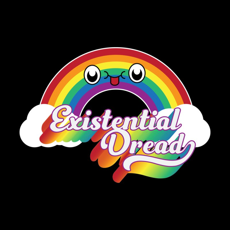 Existential Dread Men's T-Shirt by Radical Lizard, Radical designs for Radical people