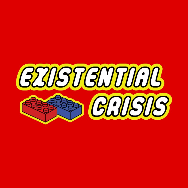 The Bricks Men's T-Shirt by Radical Lizard, Radical designs for Radical people