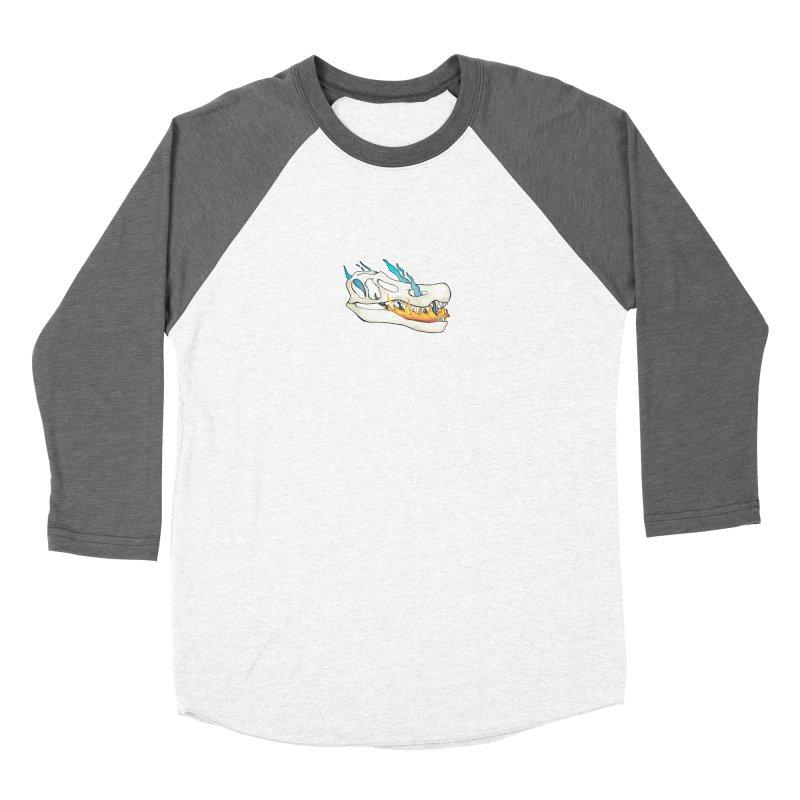 Fire-breathing Baryonyx Women's Longsleeve T-Shirt by Radiochio's Artist Shop