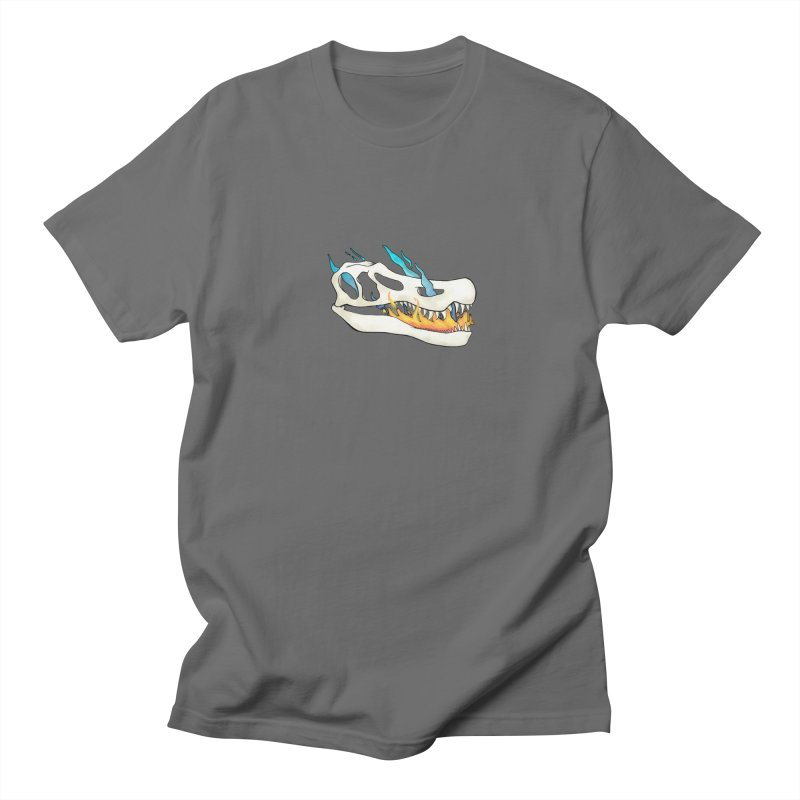 Fire-breathing Baryonyx Men's T-Shirt by Radiochio's Artist Shop