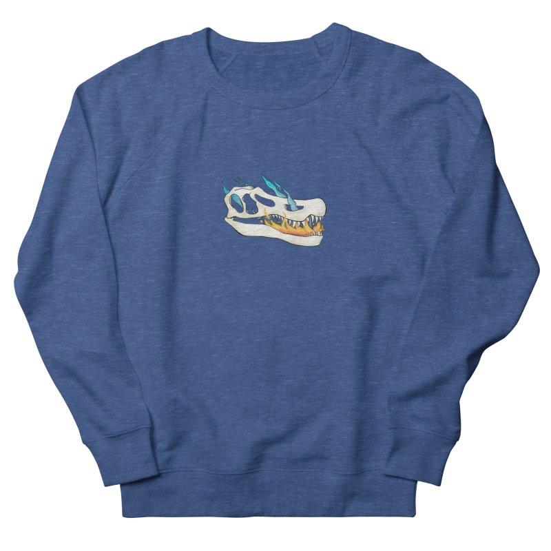 Fire-breathing Baryonyx Men's Sweatshirt by Radiochio's Artist Shop