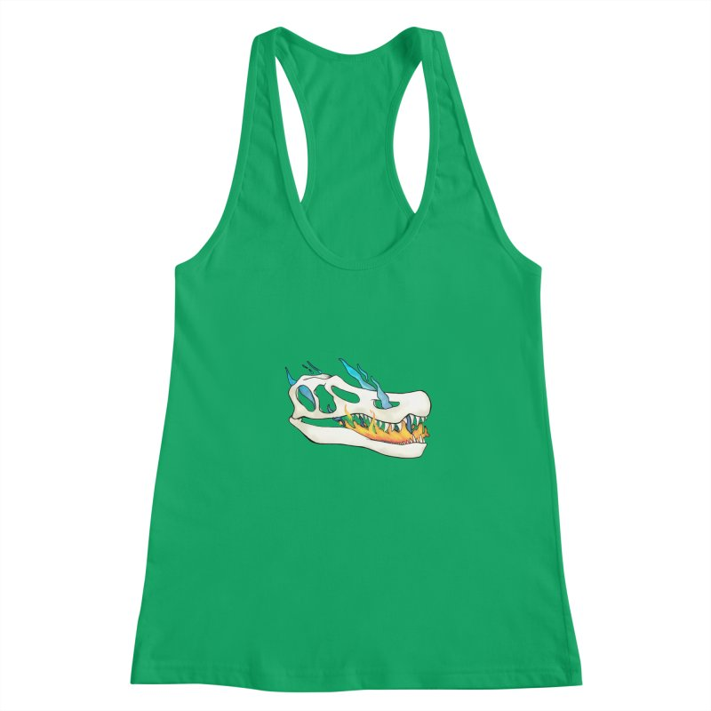 Fire-breathing Baryonyx Women's Tank by Radiochio's Artist Shop