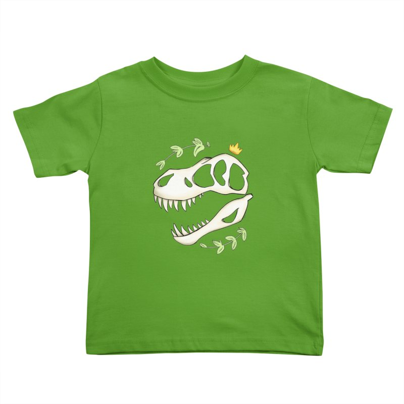 Tyrant King Kids Toddler T-Shirt by Radiochio's Artist Shop