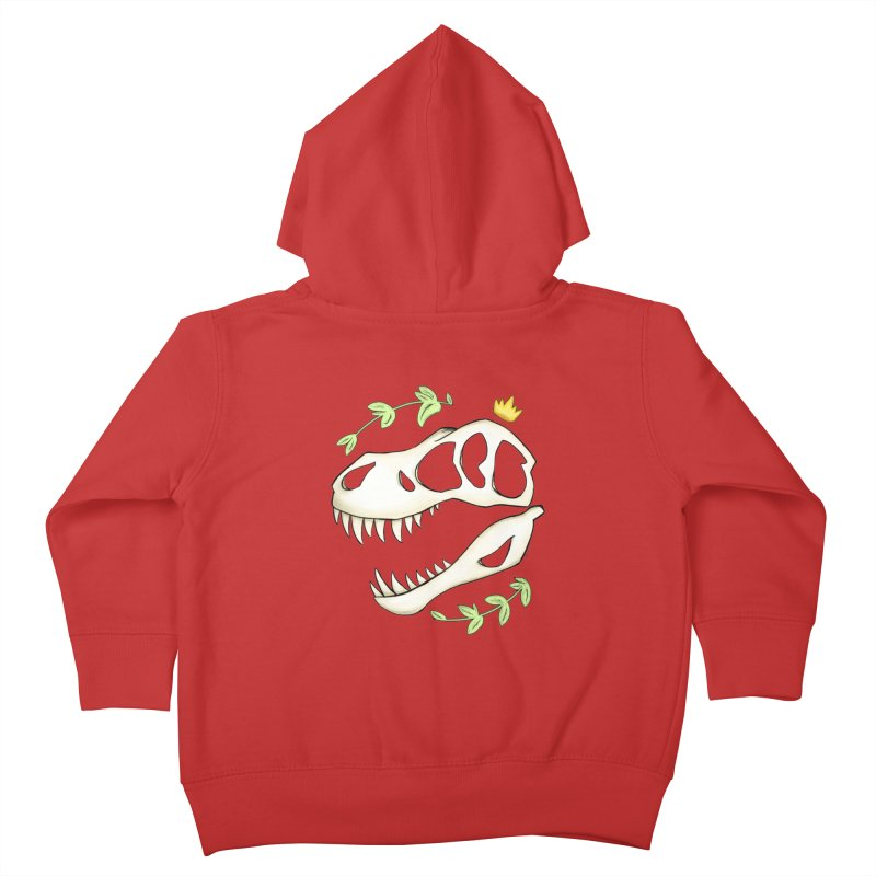 Tyrant King Kids Toddler Zip-Up Hoody by Radiochio's Artist Shop