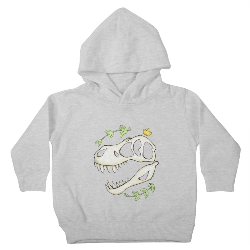 Tyrant King Kids Toddler Pullover Hoody by Radiochio's Artist Shop