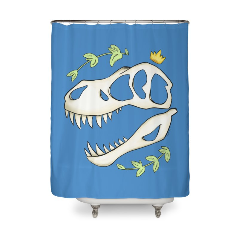 Tyrant King Home Shower Curtain by Radiochio's Artist Shop