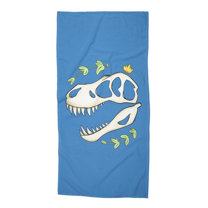 Tyrant King Accessories Beach Towel by Radiochio's Artist Shop
