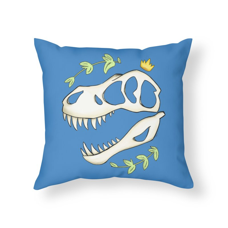 Tyrant King Home Throw Pillow by Radiochio's Artist Shop
