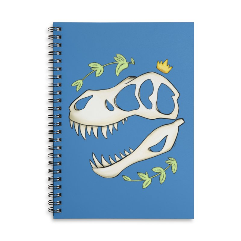 Tyrant King Accessories Notebook by Radiochio's Artist Shop