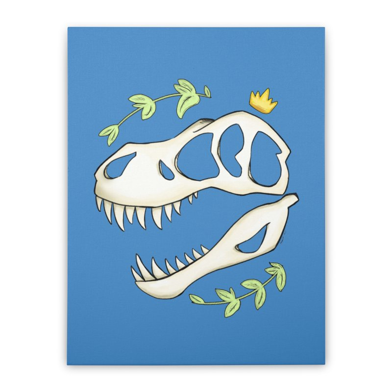 Tyrant King Home Stretched Canvas by Radiochio's Artist Shop