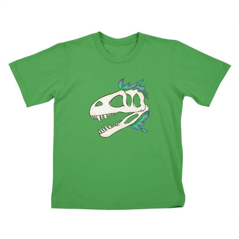 Megalosaurus Kids T-Shirt by Radiochio's Artist Shop