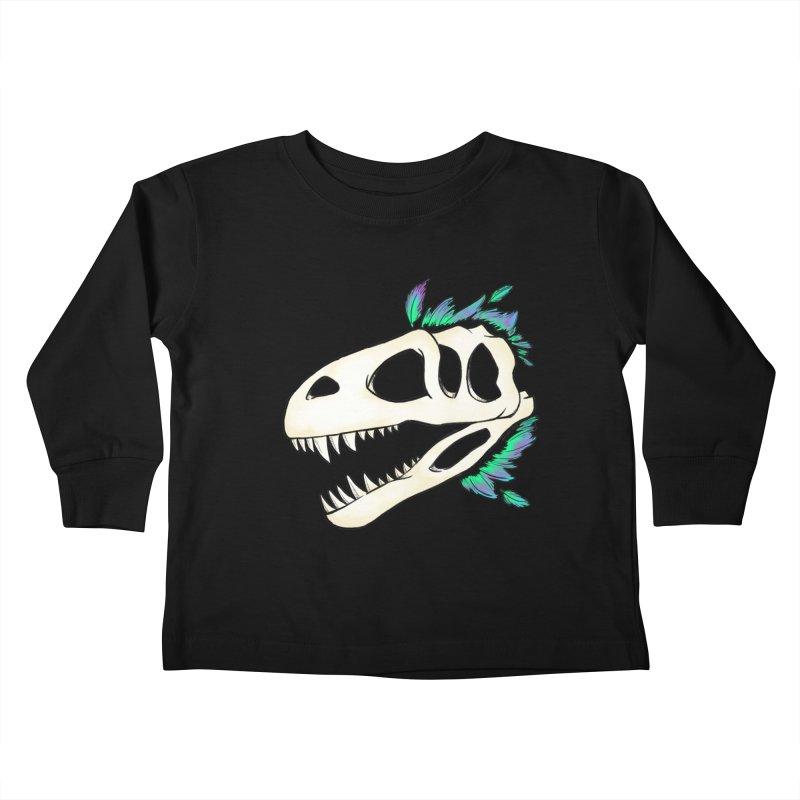 Megalosaurus Kids Toddler Longsleeve T-Shirt by Radiochio's Artist Shop