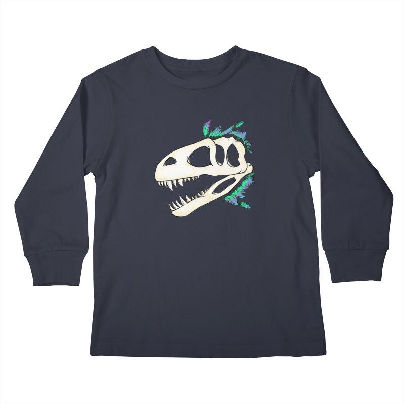 Megalosaurus Kids Longsleeve T-Shirt by Radiochio's Artist Shop