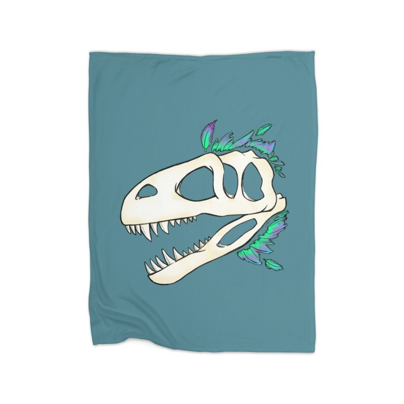 Megalosaurus Home Blanket by Radiochio's Artist Shop