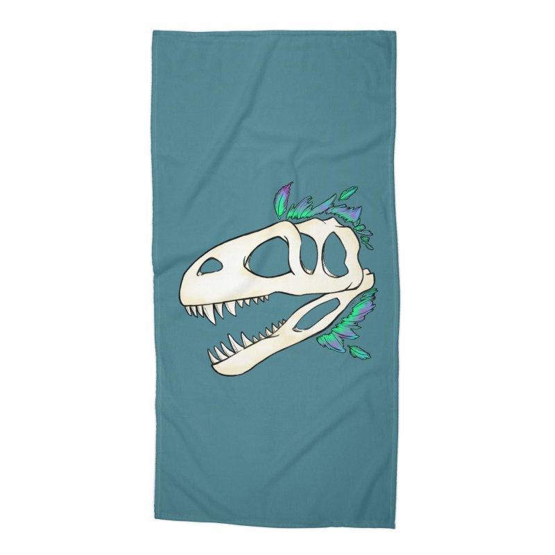 Megalosaurus Accessories Beach Towel by Radiochio's Artist Shop