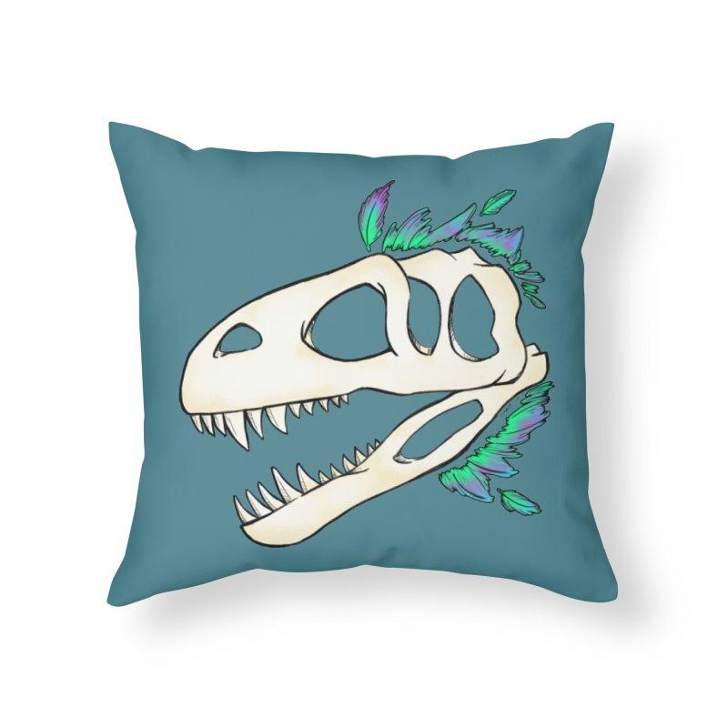 Megalosaurus Home Throw Pillow by Radiochio's Artist Shop