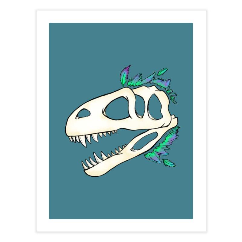 Megalosaurus Home Fine Art Print by Radiochio's Artist Shop