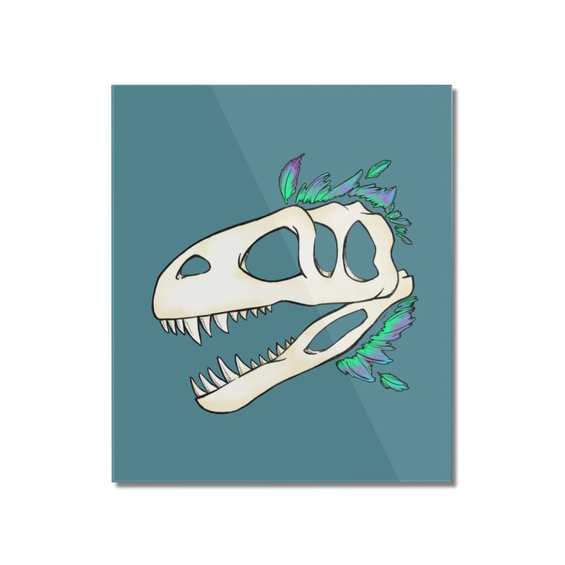 Megalosaurus Home Mounted Acrylic Print by Radiochio's Artist Shop