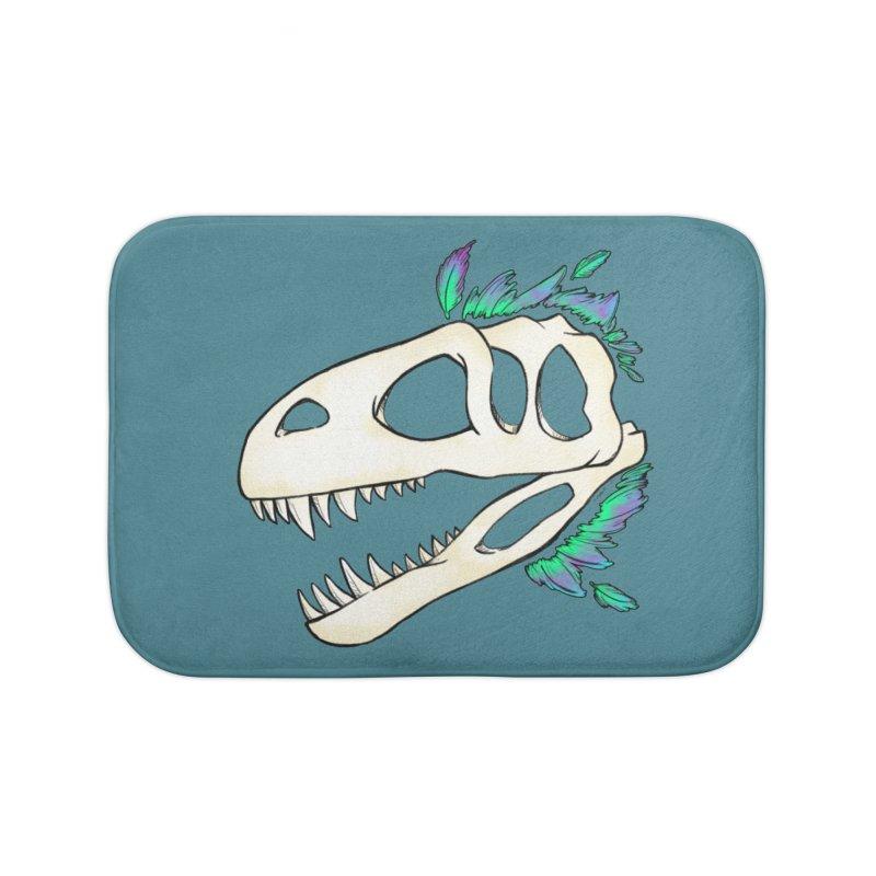 Megalosaurus Home Bath Mat by Radiochio's Artist Shop