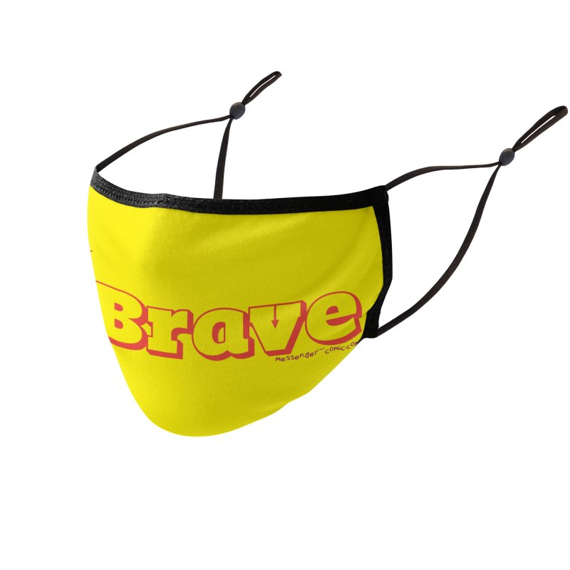 Brave Chio Accessories Face Mask by Radiochio's Artist Shop