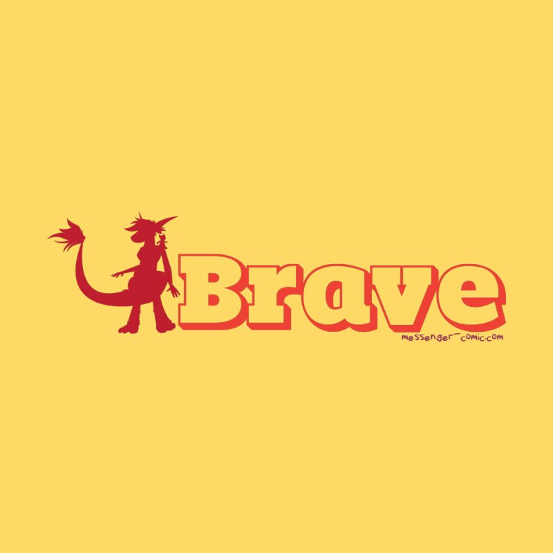 Brave Chio Women's T-Shirt by Radiochio's Artist Shop