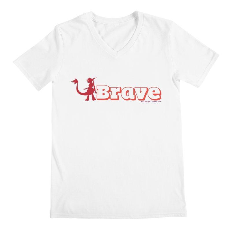 Brave Chio Men's V-Neck by Radiochio's Artist Shop