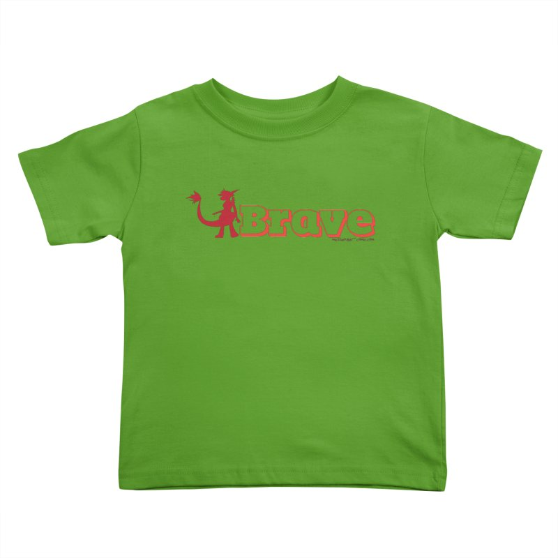 Brave Chio Kids Toddler T-Shirt by Radiochio's Artist Shop