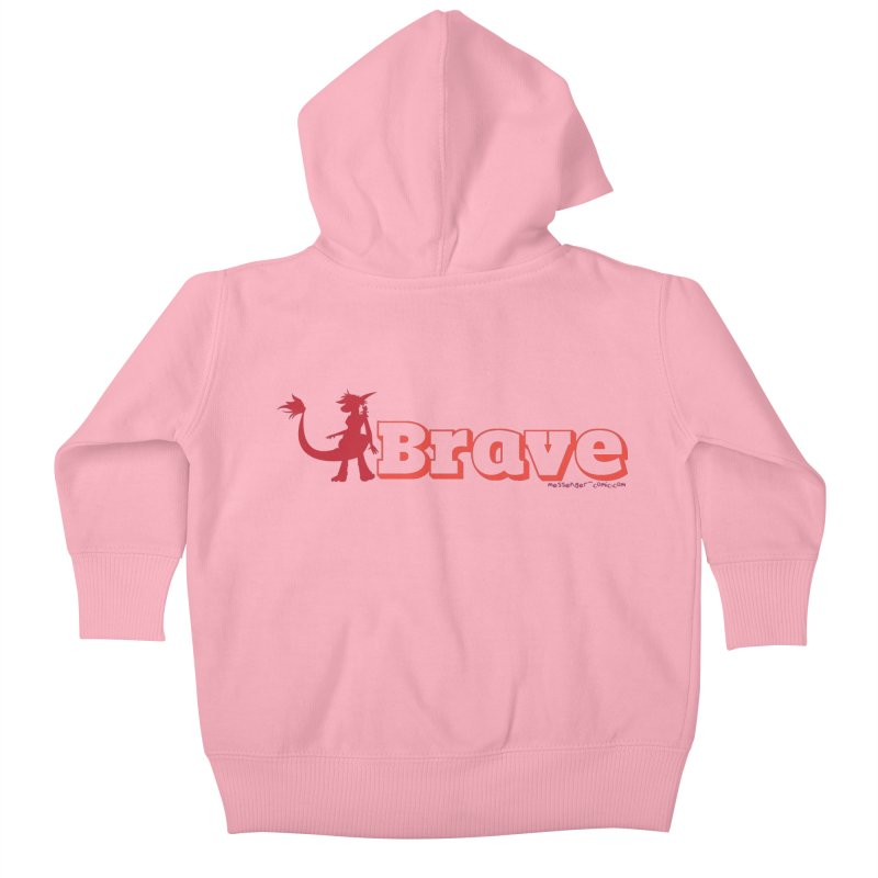 Brave Chio Kids Baby Zip-Up Hoody by Radiochio's Artist Shop
