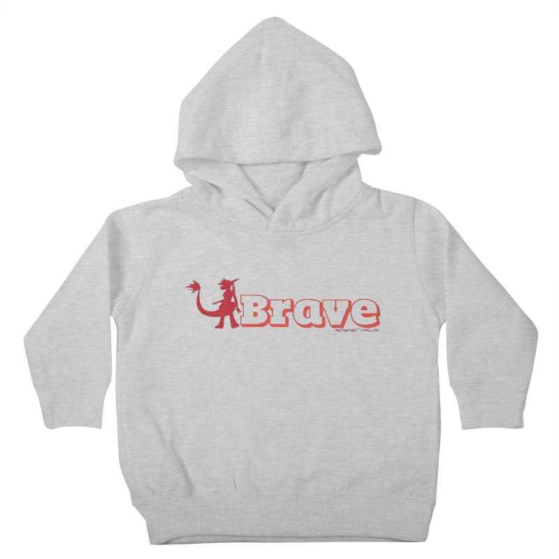 Brave Chio Kids Toddler Pullover Hoody by Radiochio's Artist Shop