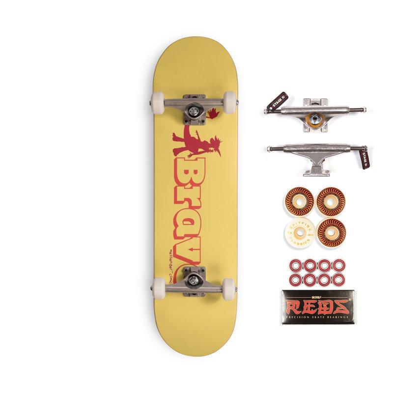 Brave Chio Accessories Skateboard by Radiochio's Artist Shop