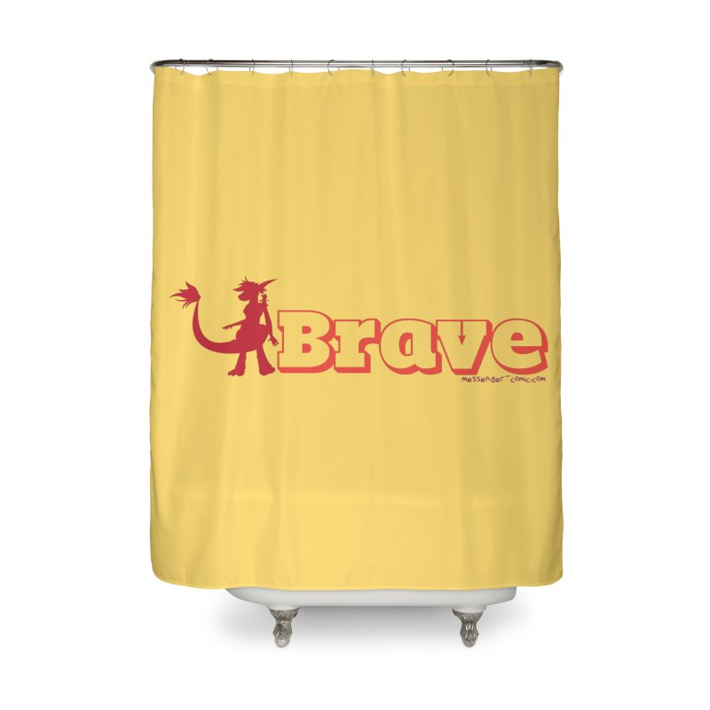 Brave Chio Home Shower Curtain by Radiochio's Artist Shop