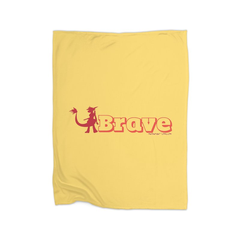 Brave Chio Home Blanket by Radiochio's Artist Shop