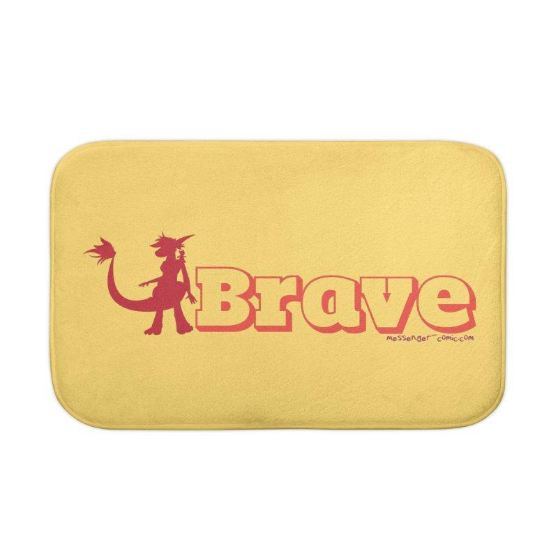 Brave Chio Home Bath Mat by Radiochio's Artist Shop