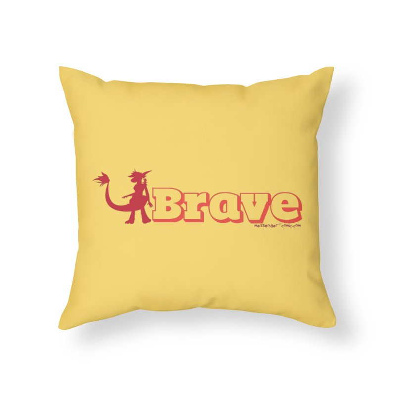 Brave Chio Home Throw Pillow by Radiochio's Artist Shop