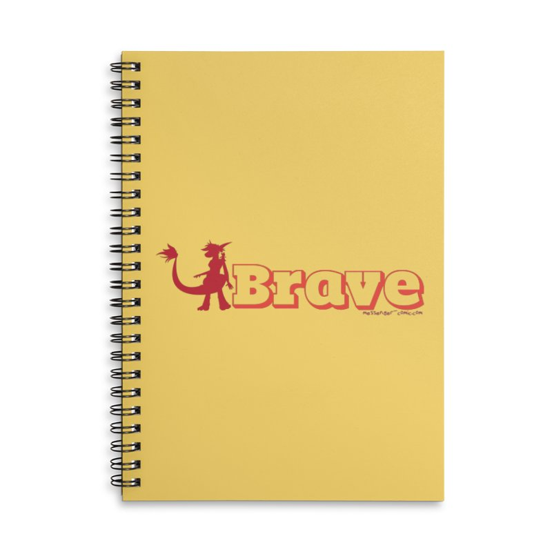 Brave Chio Accessories Notebook by Radiochio's Artist Shop