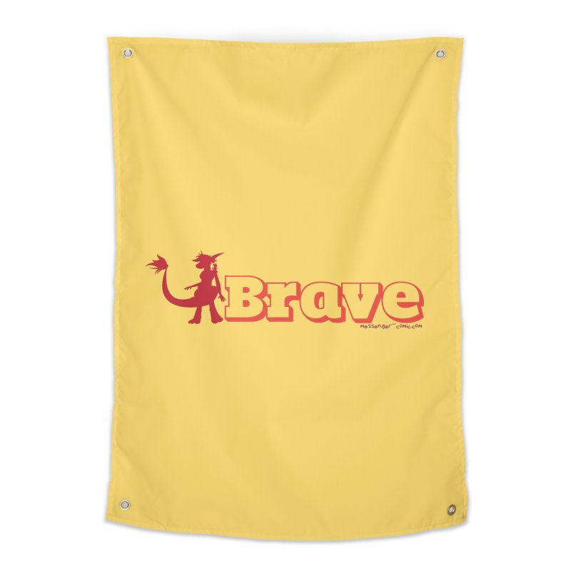 Brave Chio Home Tapestry by Radiochio's Artist Shop