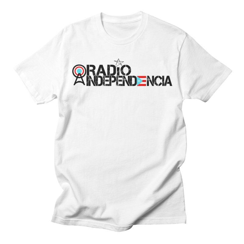 Logo Oficial in Men's Regular T-Shirt White by Tiendita de Radio Independencia