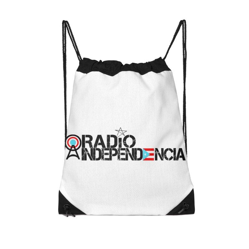 Logo Oficial in Drawstring Bag by Tiendita de Radio Independencia