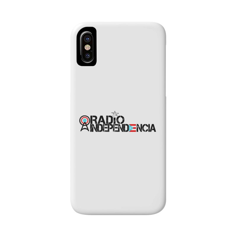 Logo Oficial in iPhone X / XS Phone Case Slim by Tiendita de Radio Independencia