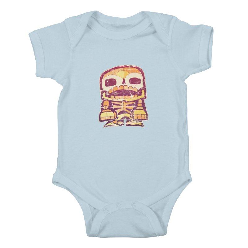Smile Kids Baby Bodysuit by rageforst's Artist Shop