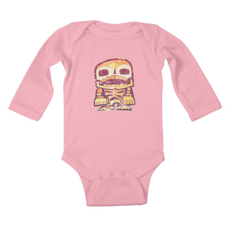 Smile Kids Baby Longsleeve Bodysuit by rageforst's Artist Shop