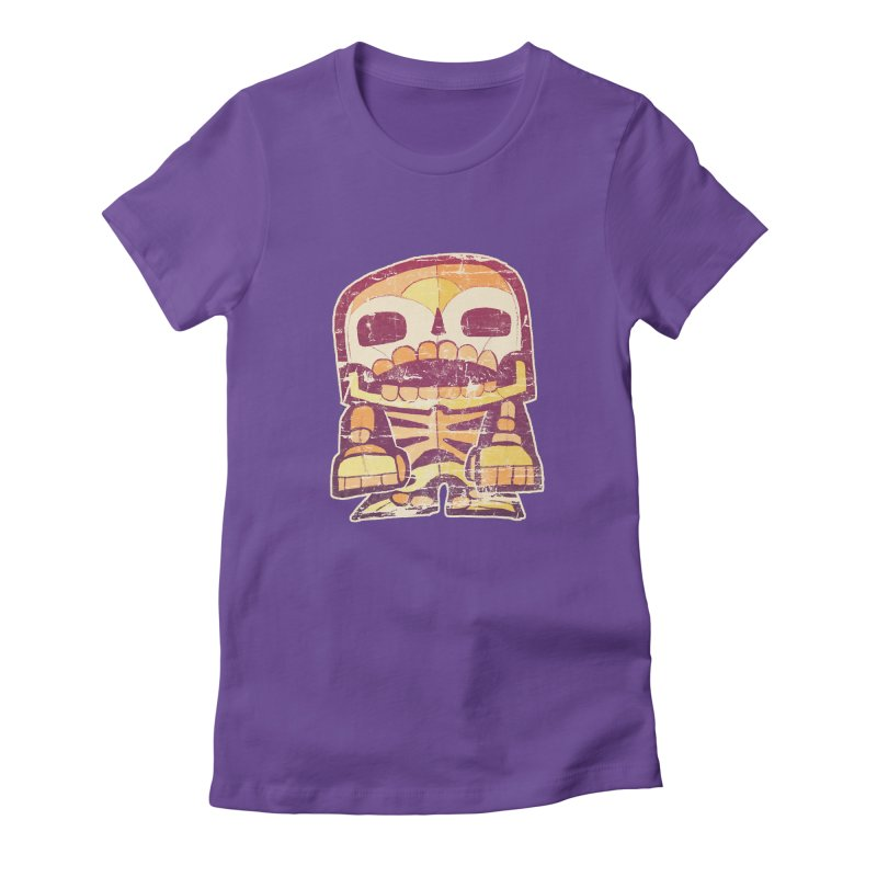 Smile Women's Fitted T-Shirt by rageforst's Artist Shop