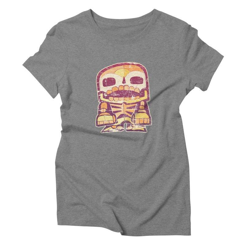 Smile Women's Triblend T-Shirt by rageforst's Artist Shop
